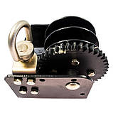 Барабанна лебідка ручна 680 кг (1500lbs) стельова, фото 2