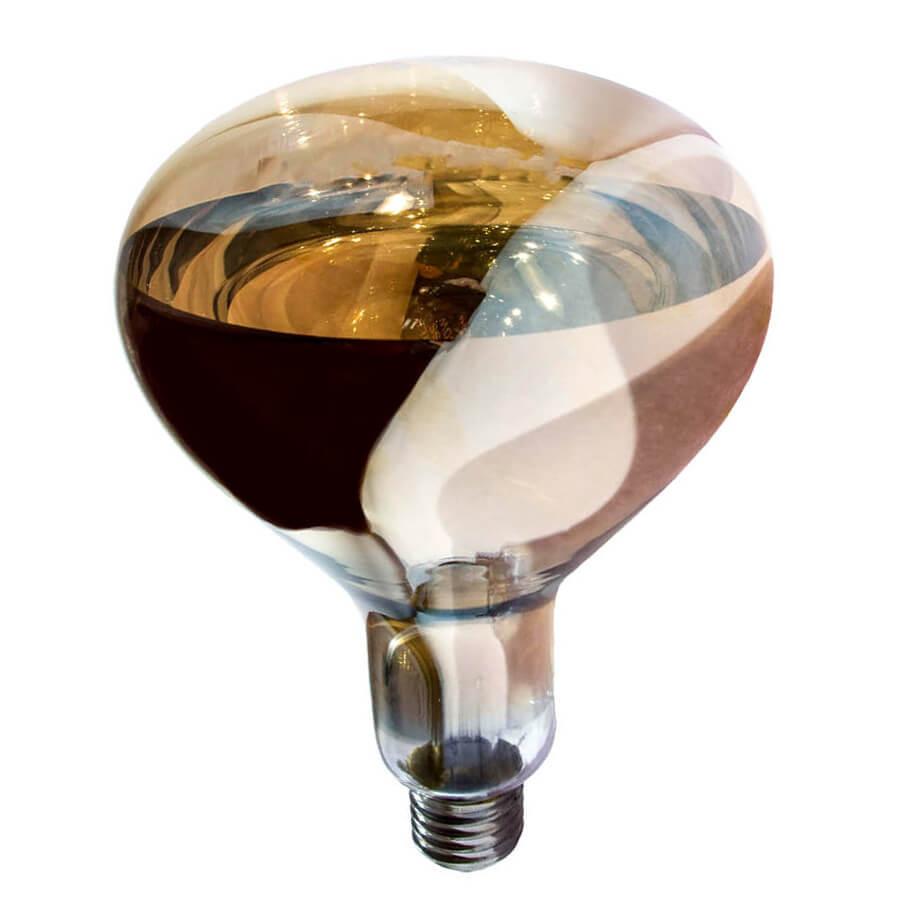 Лампа інфрачервона R125 175 Вт бронза LO