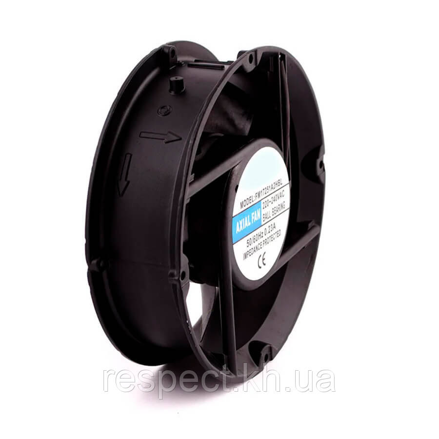 Осевой вентилятор ( 2600 об/мин.) круглый