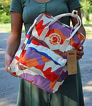 Fjallraven Kanken Classic светлый камуфляжный Городской Рюкзак на 16 литров
