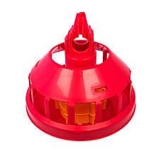 Автоматична годівниця для курей і батьківського стада Gio T/F з гратами (низький конус) CODAF Італія
