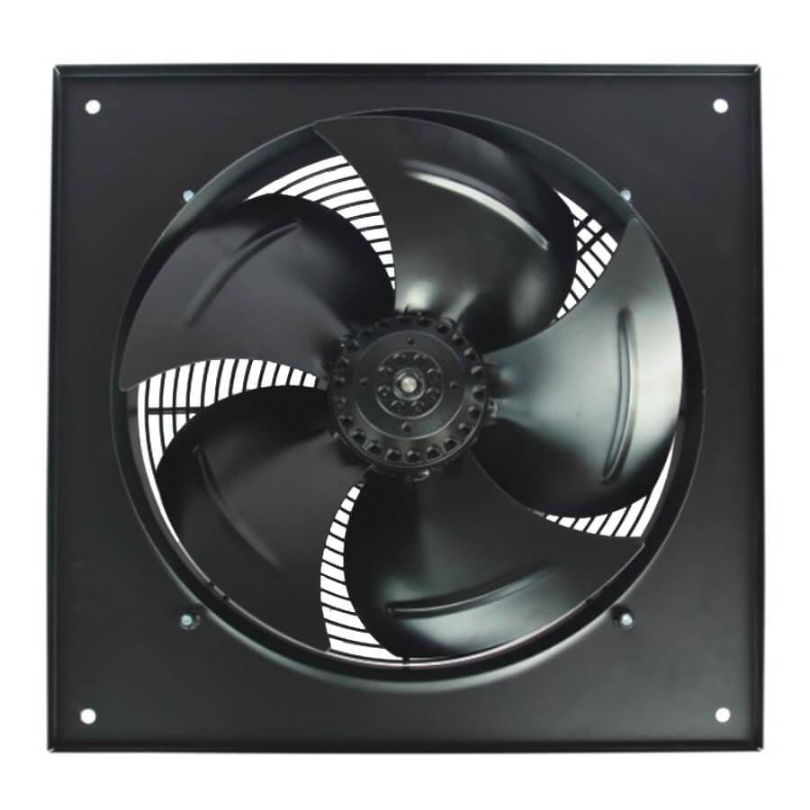 Осьовий вентилятор 350 B/S з фланцем