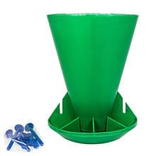 Кормушка бункерна (кормовий автомат) для поросят 6 кг (OK Plast)