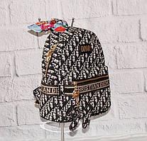 Рюкзак городской текстильный с брелком 186