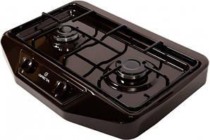 Плита настольная Greta 1103 коричневая