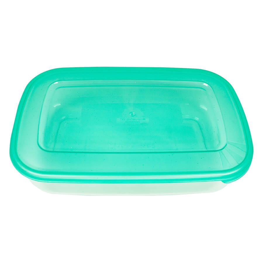 Пластиковий контейнер для продуктів овальний 1,9 л