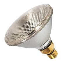 Інфрачервона лампа для обігріву PAR38 100 Вт Farma (Польща) біла