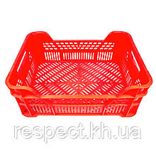 Ящик для фруктів і овочів (червоний)