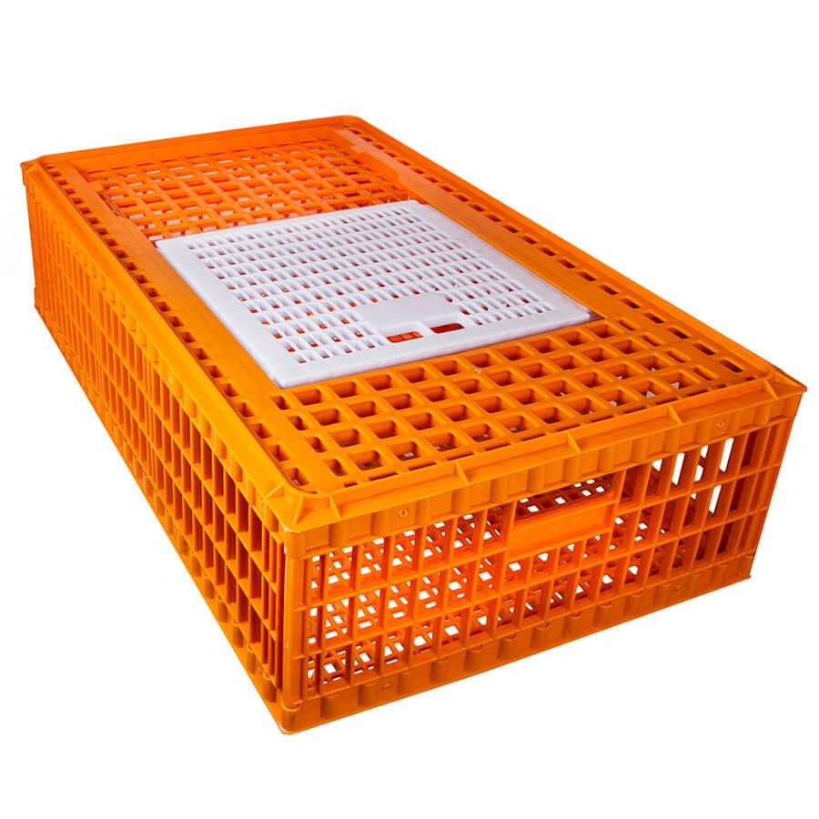 Ящик для перевозки живой птицы с раздвижной верхней дверкой 98х58х27