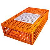 Ящик для перевозки живой птицы с раздвижной верхней дверкой 98х58х27, фото 2