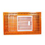 Ящик для перевозки живой птицы с раздвижной верхней дверкой 98х58х27, фото 3