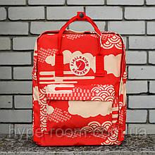 Fjallraven Kanken Classic Городской красный Рюкзак на 16 литров
