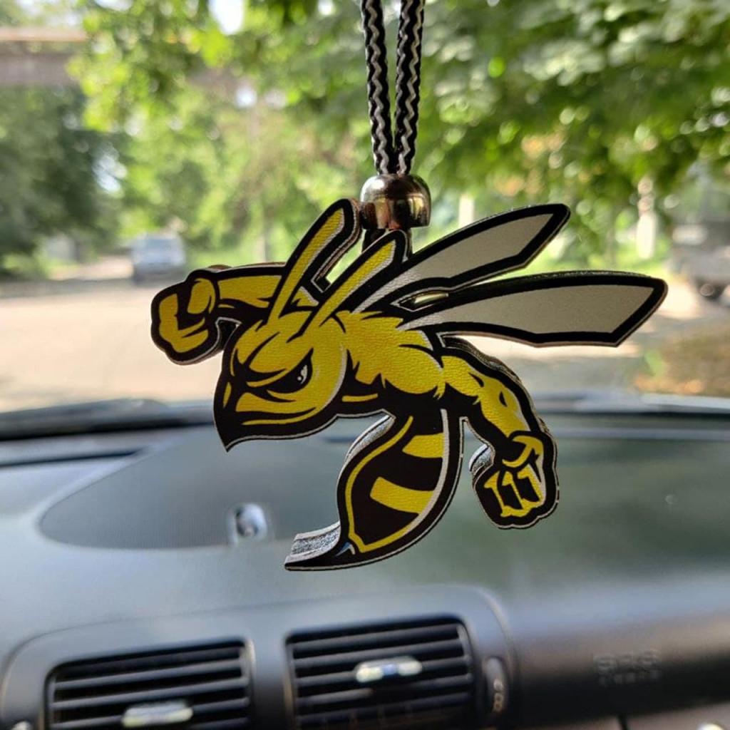 Ароматизатор пахучка в машину із дерева Зла бджола