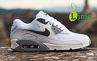 Кроссовки, Nike Air Max 90 White Black, фото 1