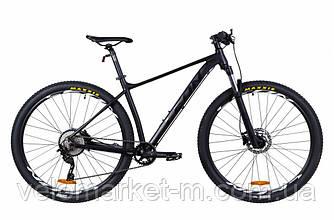 """Велосипед 29"""" Leon TN-60 19"""" 2021 чорний"""