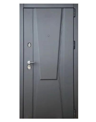 Дверь входная SteelArt Троя New 3D Home Асфальт / Сливочный шелк