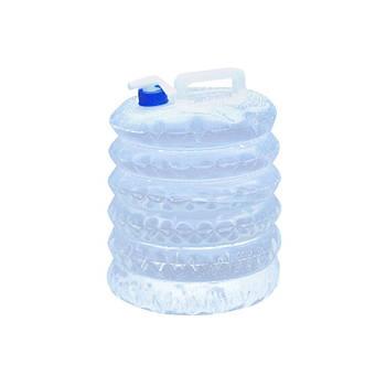 Складана каністра Campleader для води автомобільна туристична поліетиленова 10 L