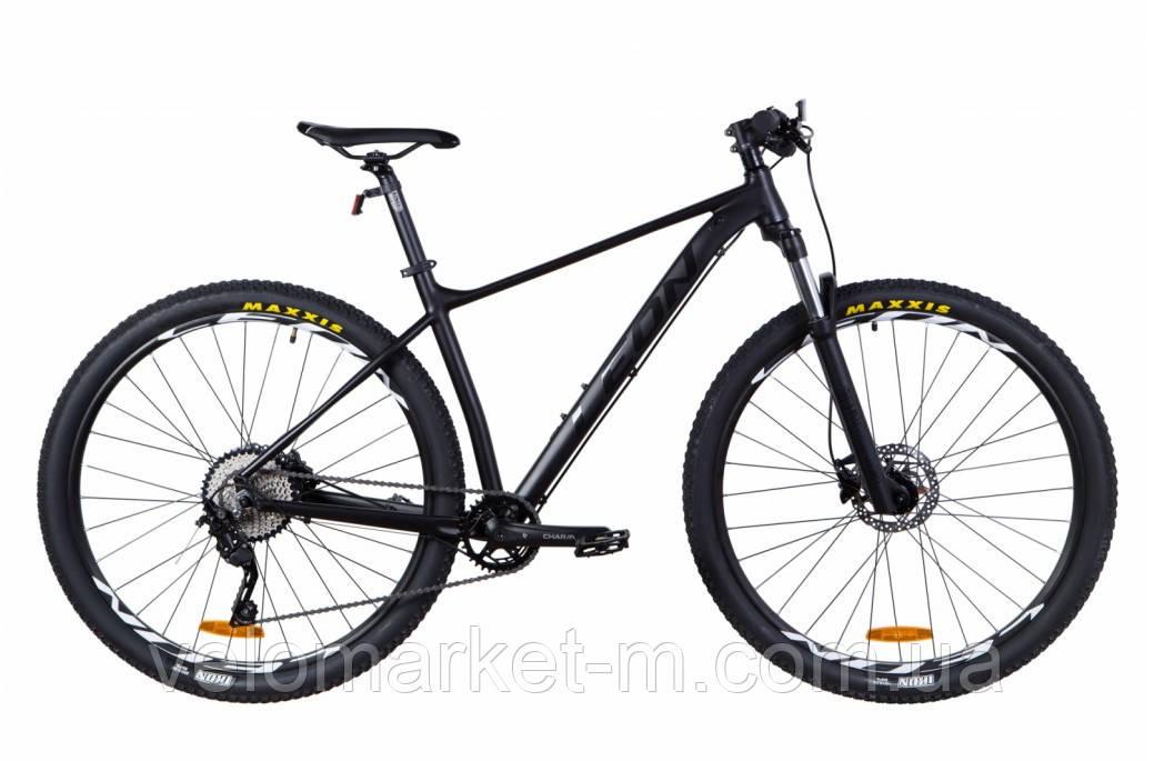 """Велосипед 29"""" Leon TN-60 21"""" 2021 черный"""