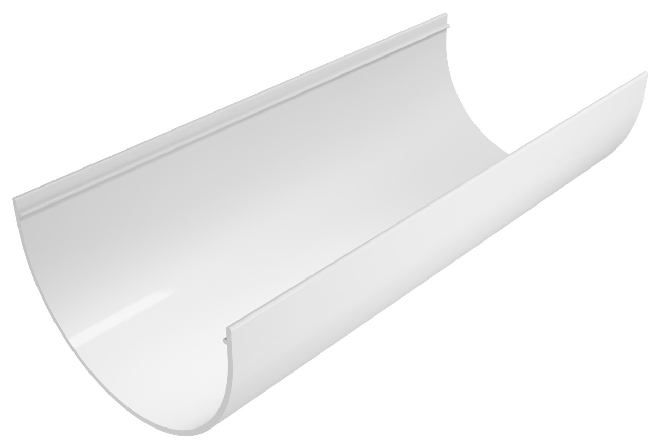 Желоб пластиковый Regenau Д=125мм, длина 3000мм