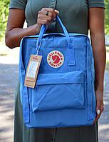 Fjallraven Kanken Classic синій Міський Рюкзак на 16 літрів, фото 1