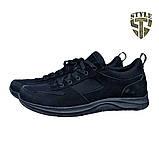 Кросівки трекінгові 20-03 чорного кольору, фото 2