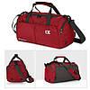 Спортивная сумка Ix 8037 для фитнеса, тренировок, бассейна и путешествий красная, фото 2
