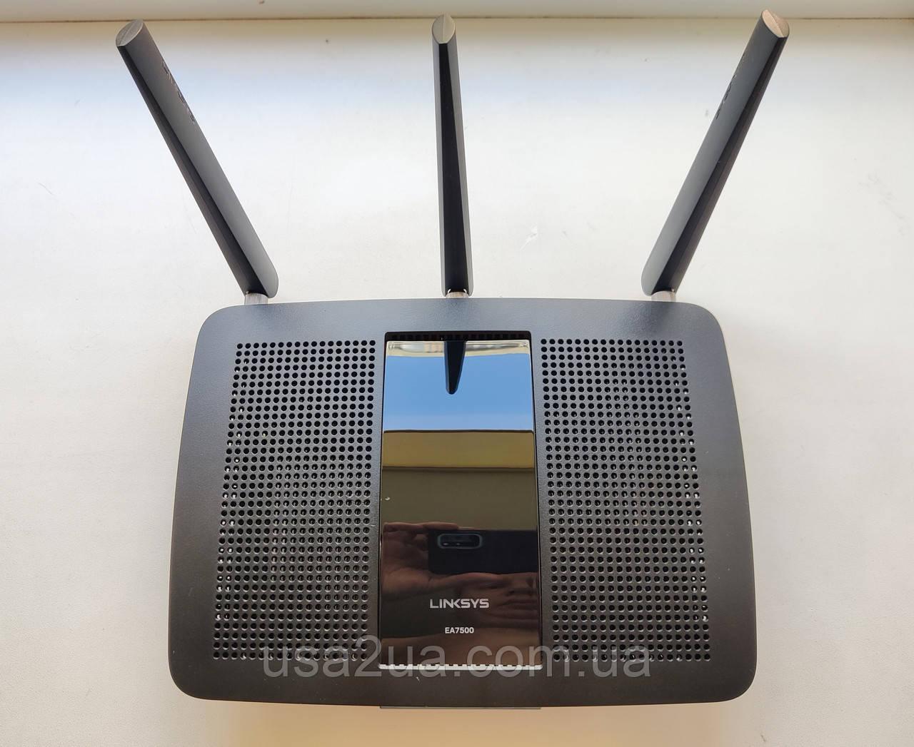 Cisco Linksys EA7500  AC1900 Gigabit Wi-Fi Router  2.4  5 ГГц роутер маршрутизатор Гарантия Кредит
