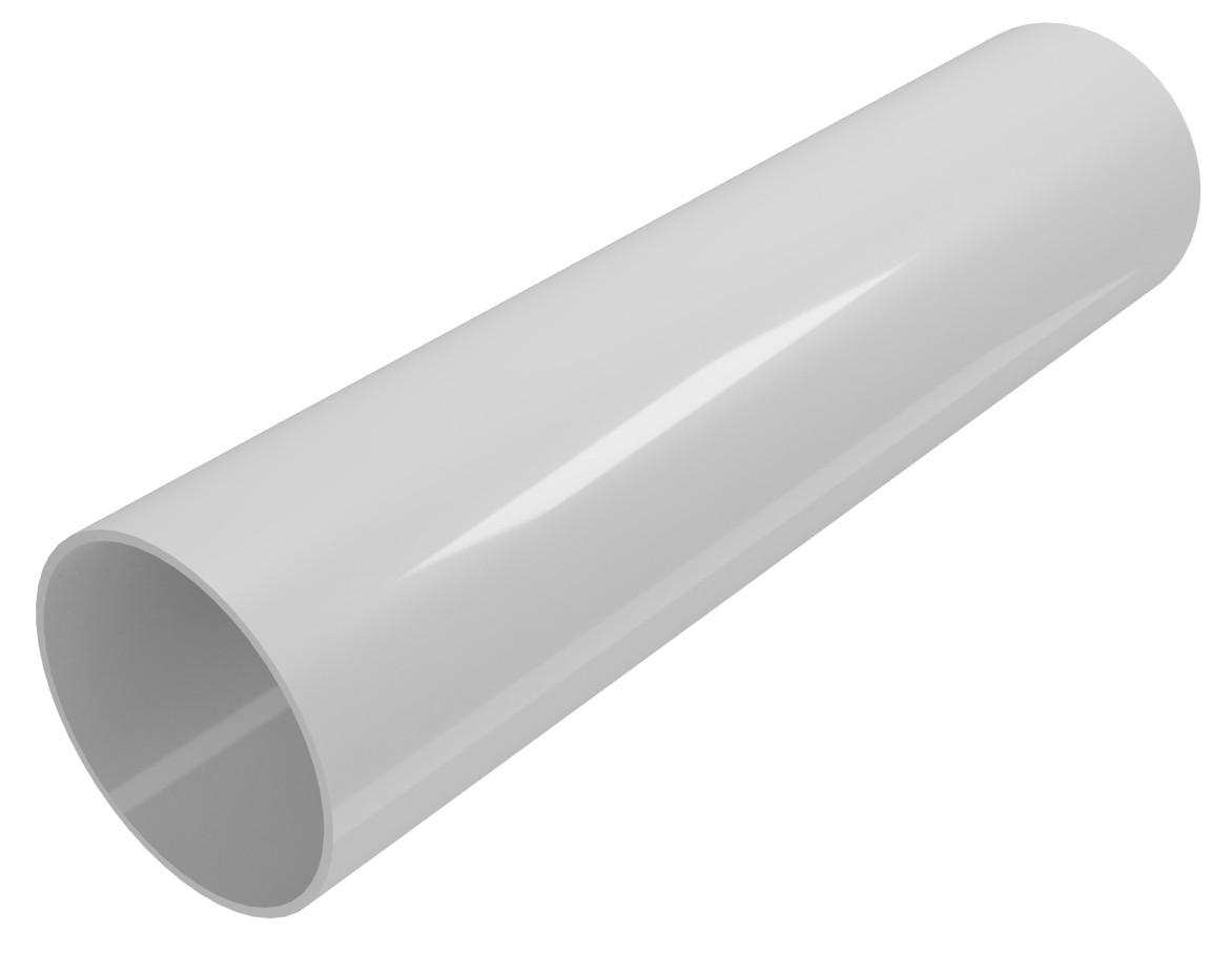Труба водостічна Regenau Д=80мм, довжина 3000мм