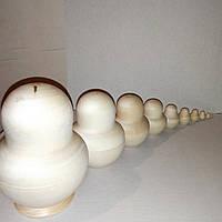 Заготовка деревянная для матрёшки,лампочка 10в1.высота 12см.Заготовка для декупажа.Заготовка для росписи