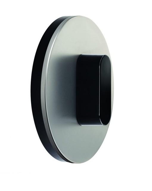 Выключатель поворотный Berker R.Classic алюминий полярная белизна