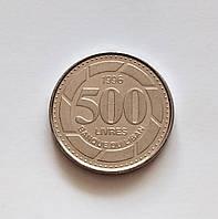 500 ліврів Ліван 1996 р., фото 1
