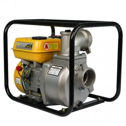 Мотопомпа бензиновая четырехтактная FORTE FP30C (для чистой воды, 60 м. куб/час) для полива участков, фото 2