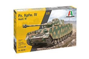 Збірна модель танка Pz. Kpfw. IV Ausf H. 1/35 ITALERI 6578