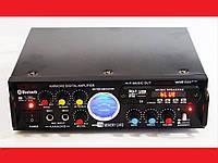 Усилитель звука BSW AV-339BT + USB + Fm + Mp3 + КАРАОКЕ + Bluetooth
