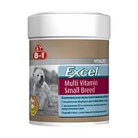 Комплекс витаминов и минералов для собак мелких пород 8in1 Excel Multi Small Breed, 70 шт