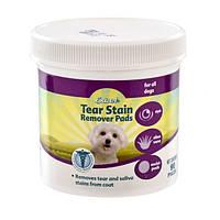 Салфетки для собак очищающие от пятен под глазами 8in1 Tear Stain Remover Pads, 90 шт