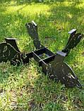 Подска металева для сковороди з диска, борони розбірна 40-50-60 см ПМ-1, фото 3
