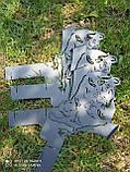 Подска металева для сковороди з диска, борони розбірна 40-50-60 см ПМ-1, фото 8