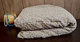 Жаккардовый Чехол на диван и два кресла из плотной ткани Дивандек универсальный c юбкой Цвет Ванильный, фото 2