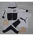 Спортивний костюм в стилі Пума для хлопчика на зріст 86-140 см, фото 2