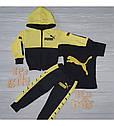 Спортивный костюм в стиле Пума для мальчика на рост 86-140 см, фото 3