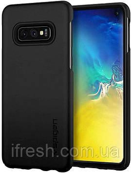 Чехол Spigen для Samsung Galaxy S10e - Thin Fit, Black (609CS25829)