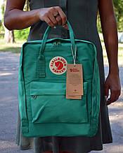 Fjallraven Kanken Classic бирюзовый рюкзак Городской на 16 литров