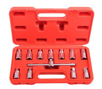 Набор для откручивания маслянных пробок. 12 пр.Alloid. МП-5039