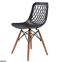 Lace стілець чорний
