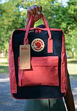 Fjallraven Kanken Classic розовый с синим Рюкзак Городской на 16 литров