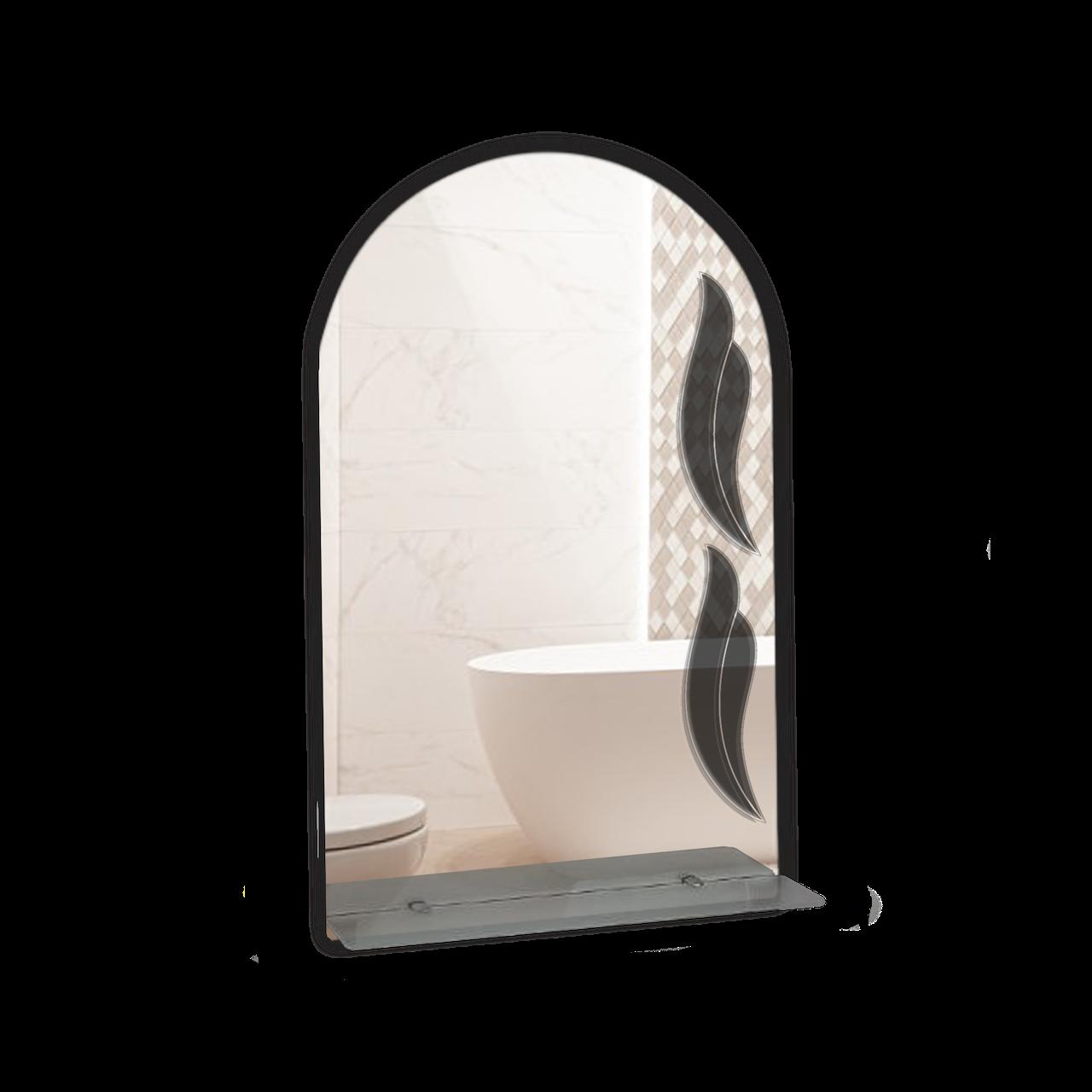 Дзеркало для ванної кімнати 500х800 Ф105