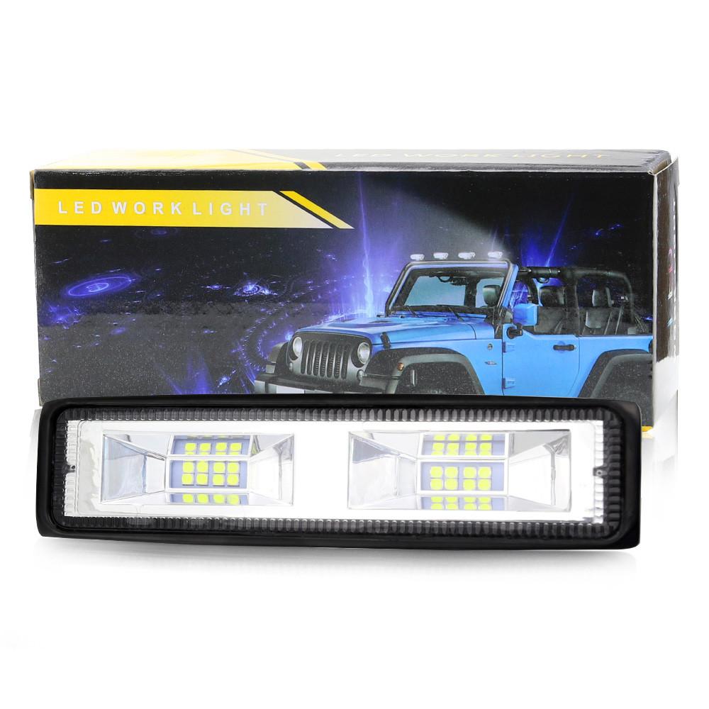 Фара LED прямокутна 48W, 16 ламп, 10 / 30V 6000K