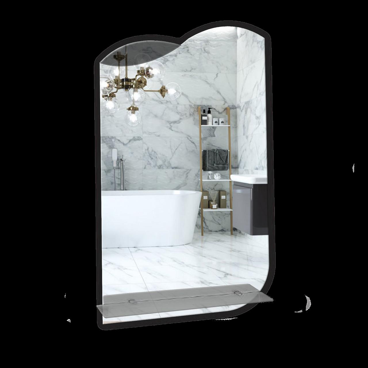 Зеркало для ванной комнаты 400х700 Ф211