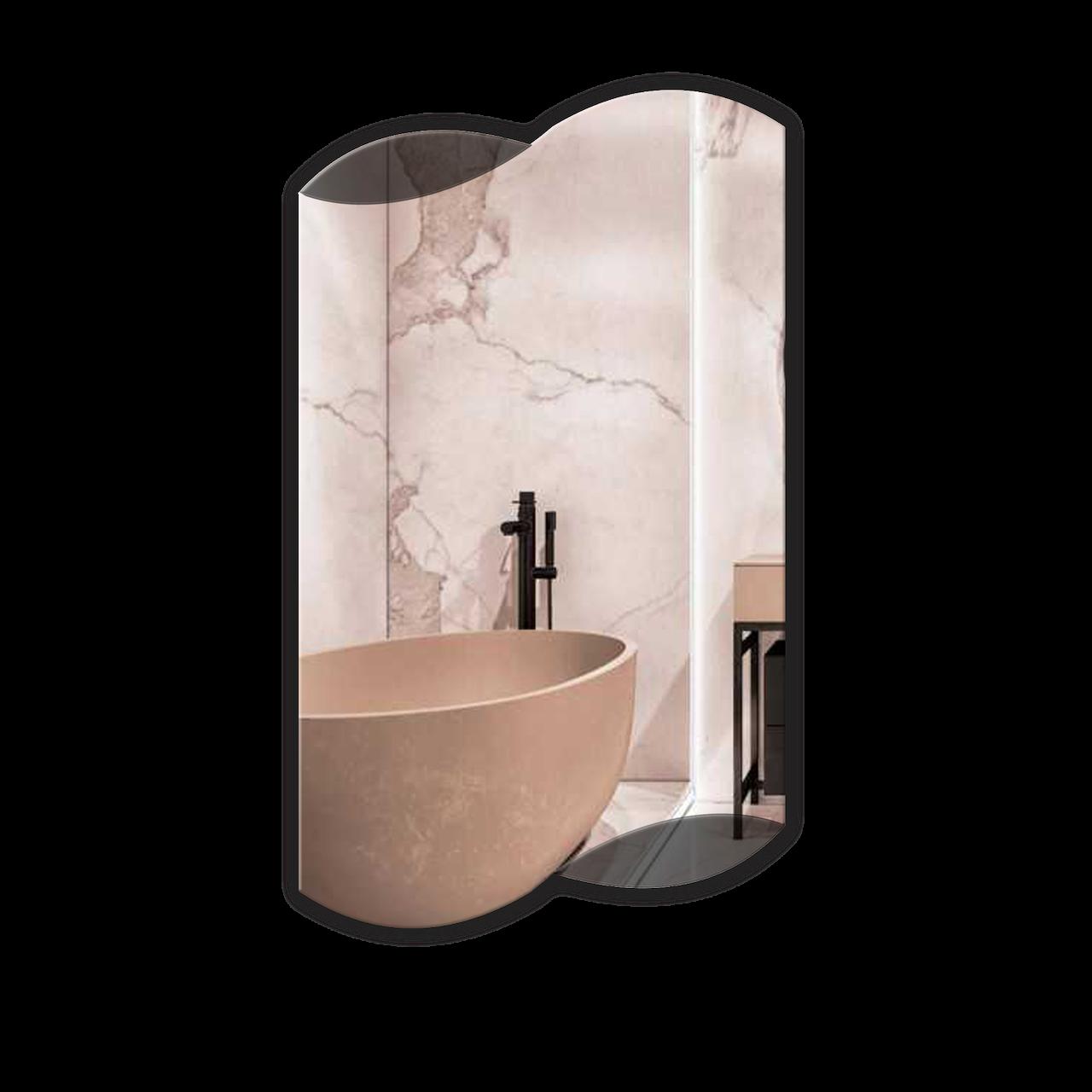 Дзеркало для ванної кімнати 400х700 Ф212